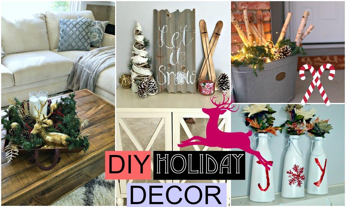 DIY Christmas Bedroom Decor  DIY Holiday Room Decor DIY Christmas