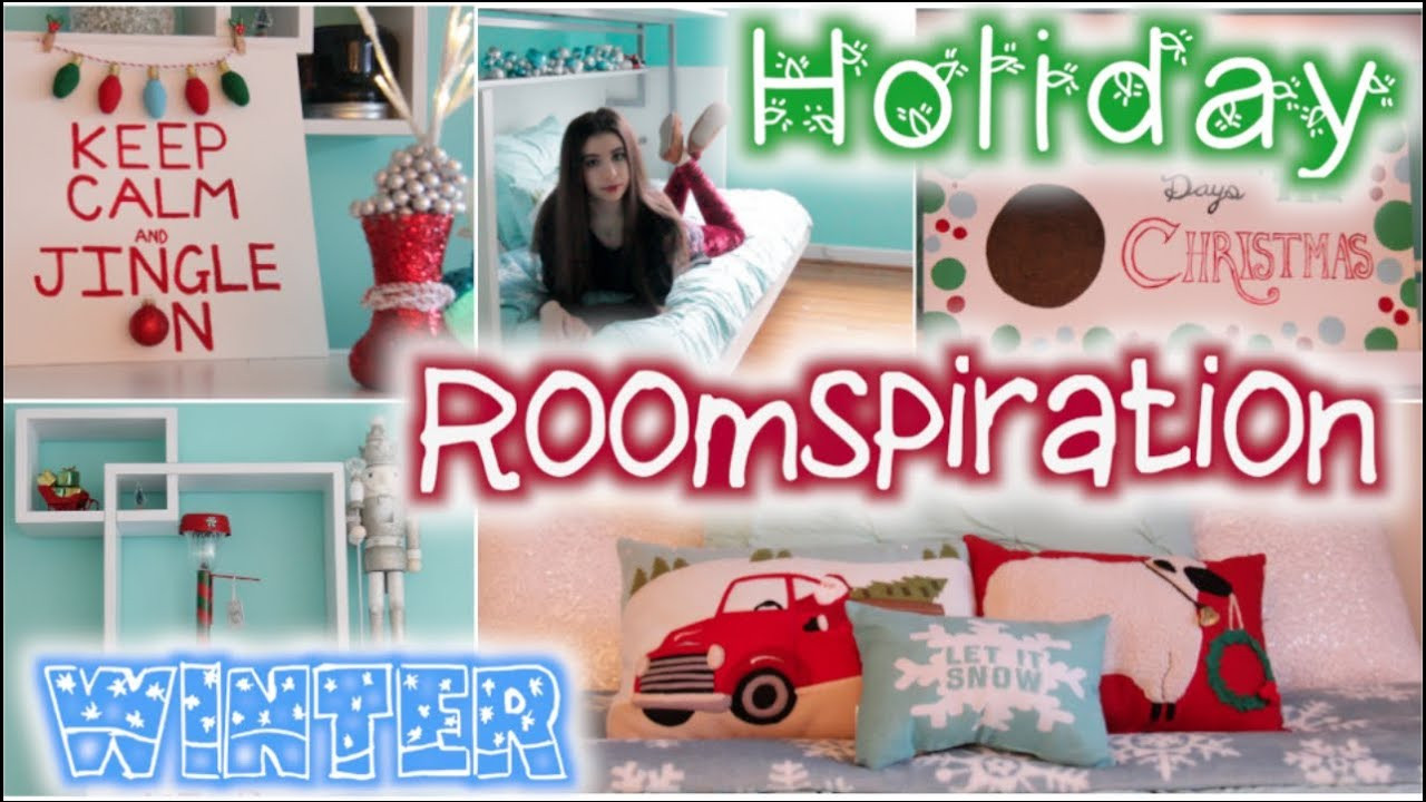 DIY Christmas Bedroom Decor  Roomspiration 6 Easy DIY s Decorating My Room for