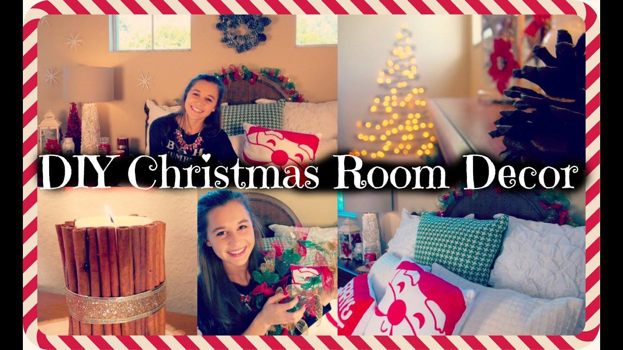 DIY Christmas Bedroom Decor  DIY Christmas Room Decor