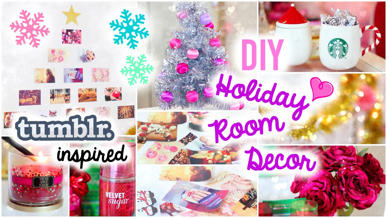 DIY Christmas Bedroom Decor  DIY Holiday Room Decor ♡ Easy & Simple Ideas