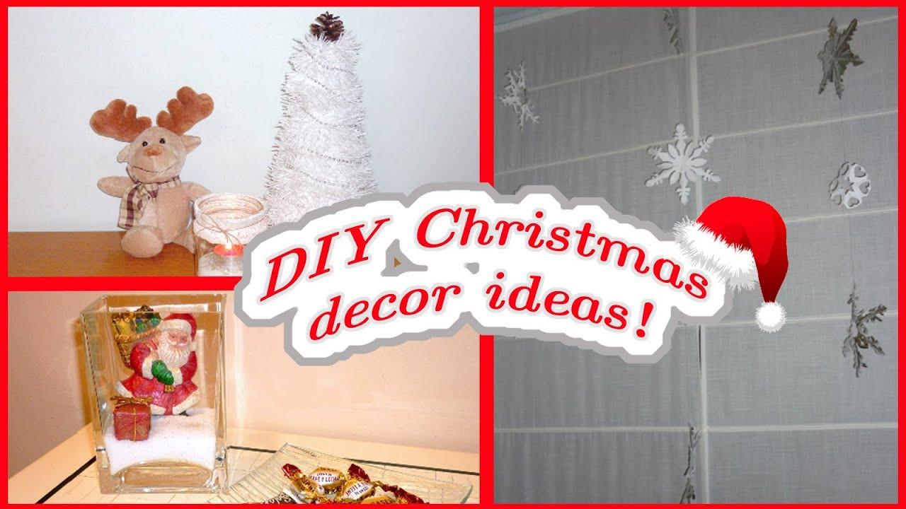 DIY Christmas Bedroom Decor  DIY CHRISTMAS DECOR Easy & affordable ideas