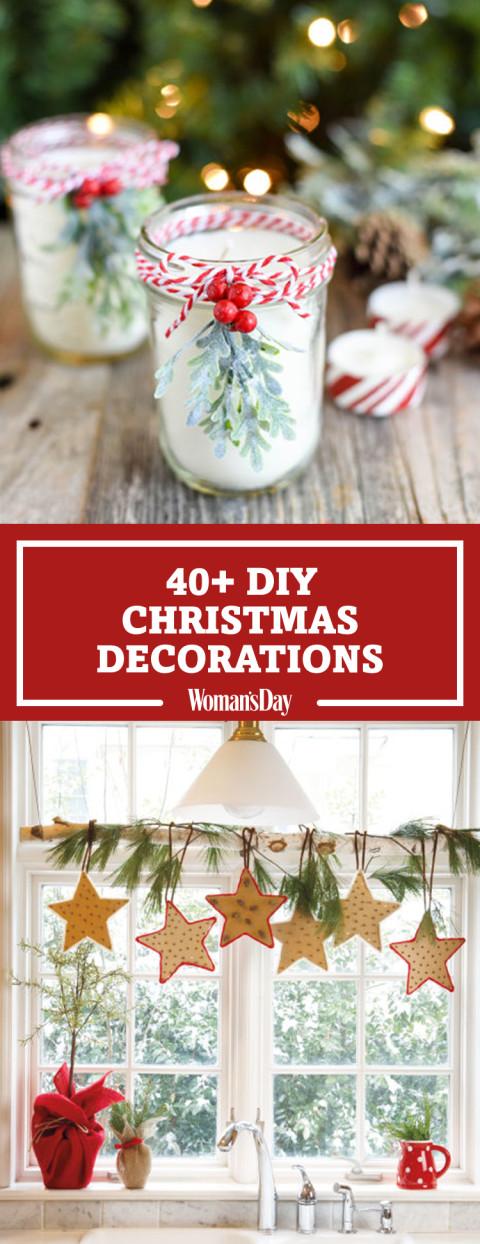 DIY Christmas Decorations Ideas  47 Easy DIY Christmas Decorations Homemade Ideas for