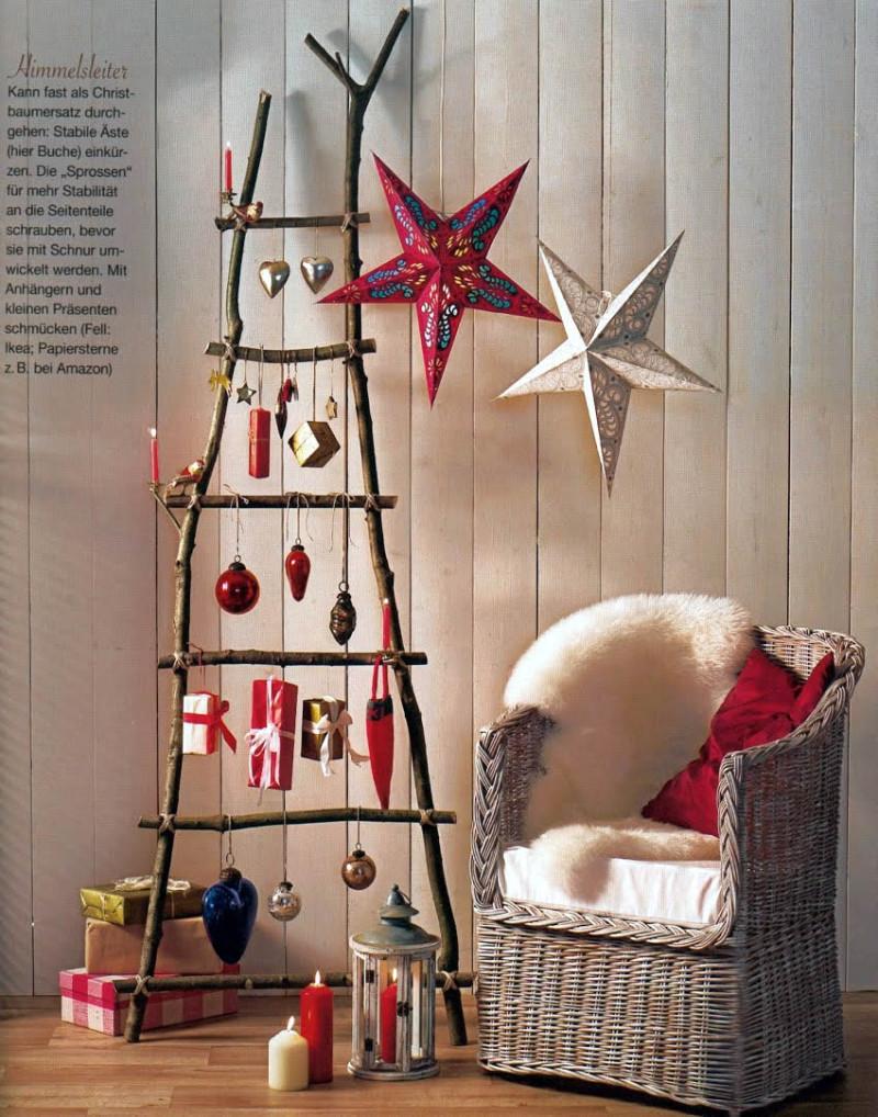 DIY Christmas Decorations Ideas  23 Creative And Unusual DIY Christmas Tree Ideas