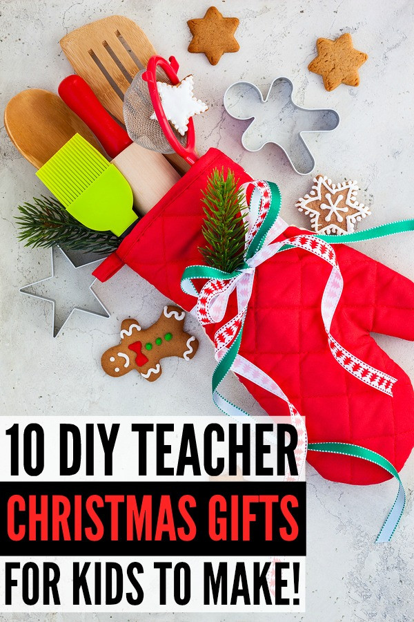 DIY Christmas Gifts For Teacher  15 DIY teacher Christmas ts