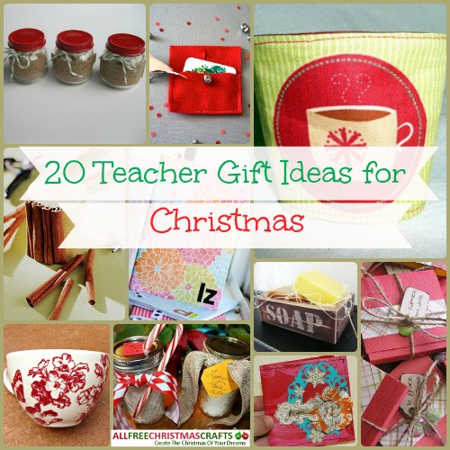 DIY Christmas Gifts For Teacher  20 Teacher Gift Ideas for Christmas
