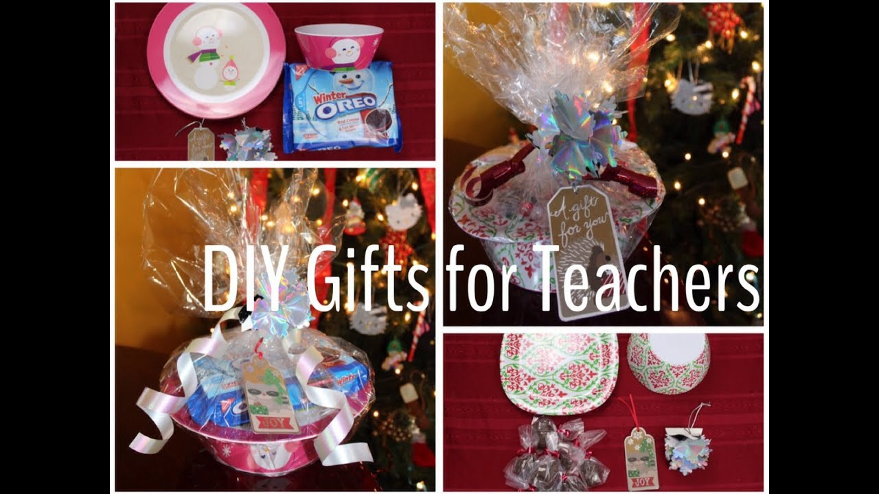 DIY Christmas Gifts For Teacher  DIY Christmas Gifts for Teachers Bud Friendly