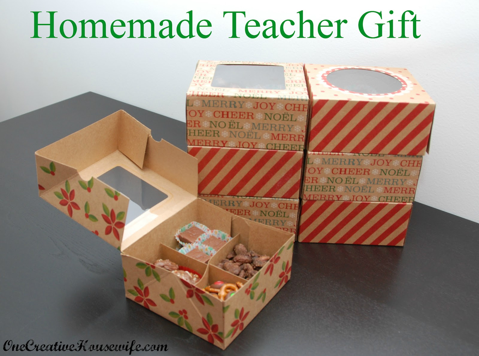 DIY Christmas Gifts For Teacher  e Creative Housewife Homemade Christmas Gift for Teachers
