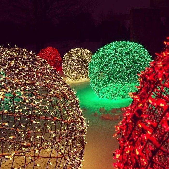 DIY Christmas Light Balls  Make Your Own Christmas Light Balls