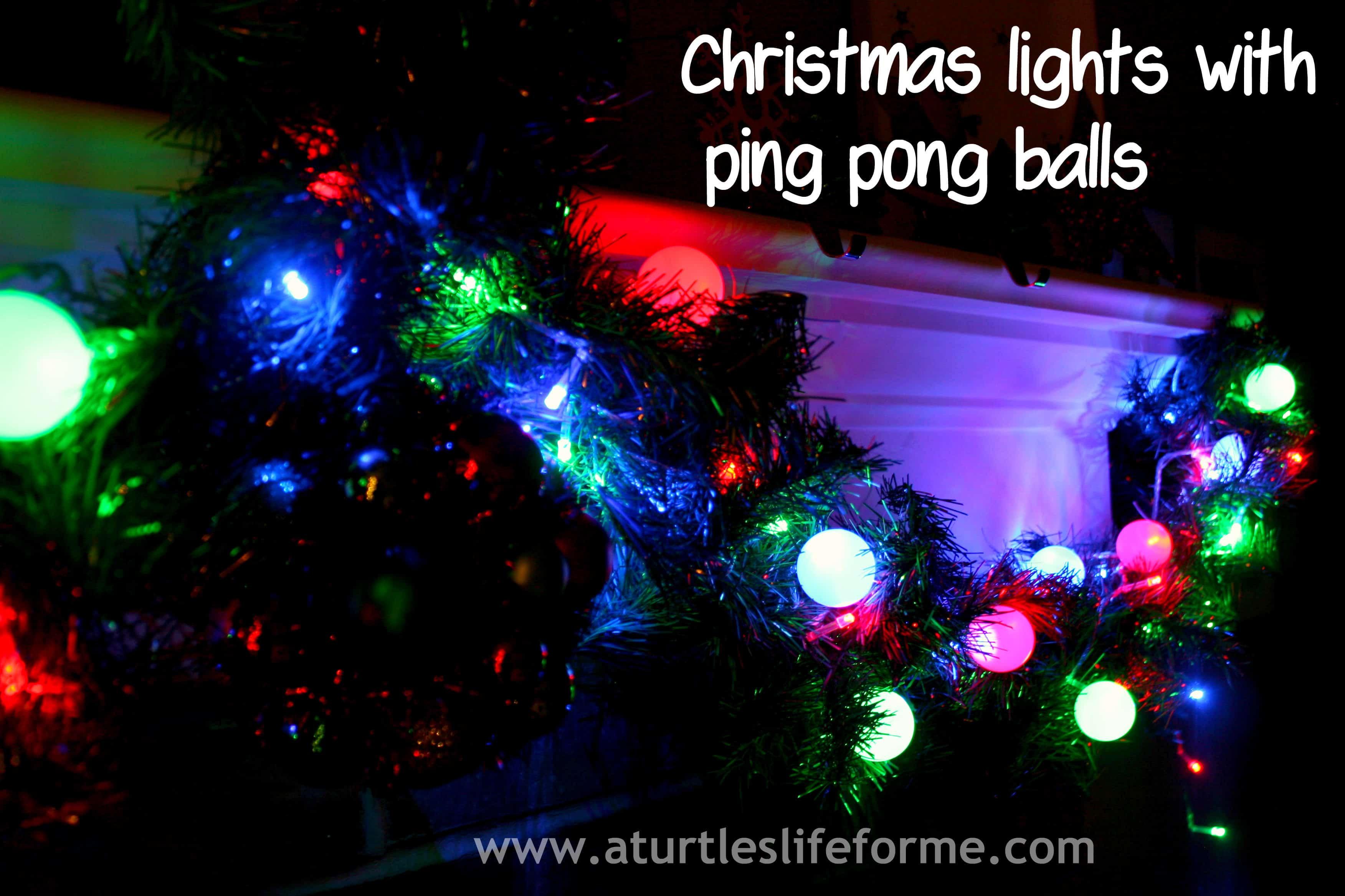 DIY Christmas Light Balls  DIY Christmas lights and Glitter Stars A Turtle s Life