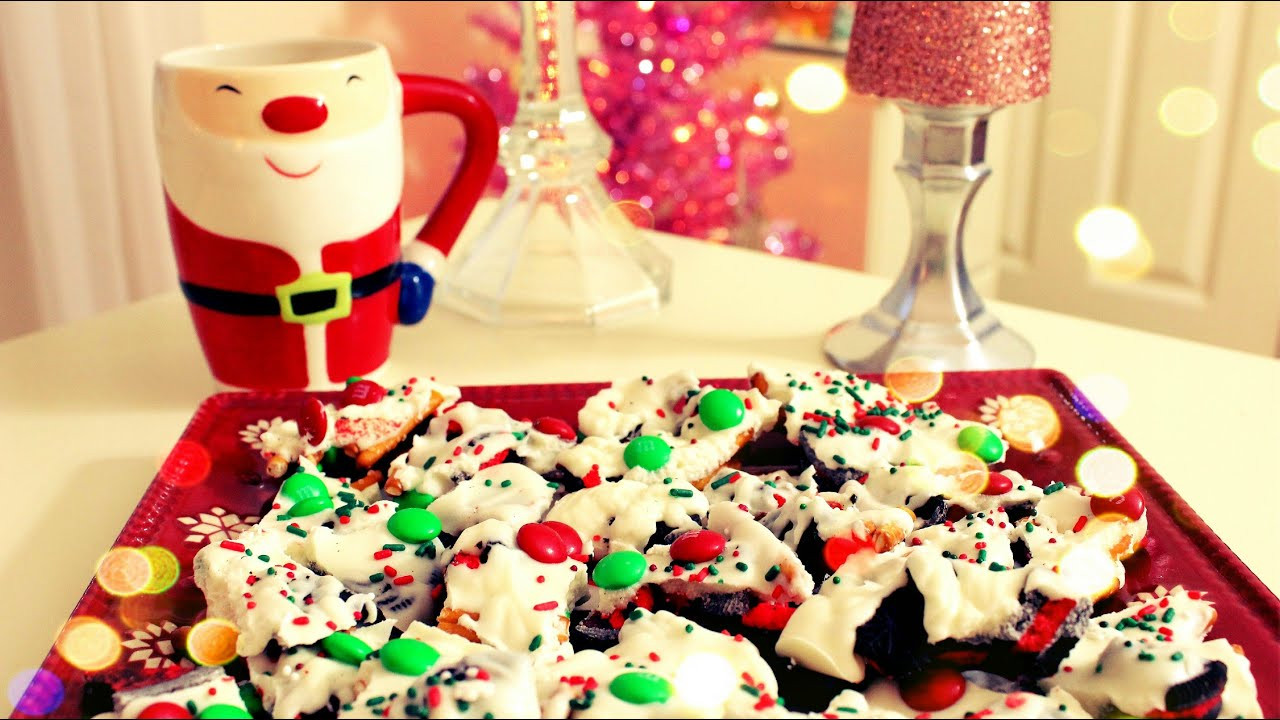 DIY Christmas Treats  DIY Christmas Treats Christmas Cookie Bark