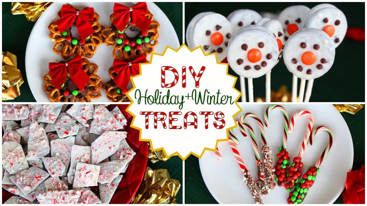 DIY Christmas Treats  DIY Holiday Winter Treats Quick Easy and Delicious
