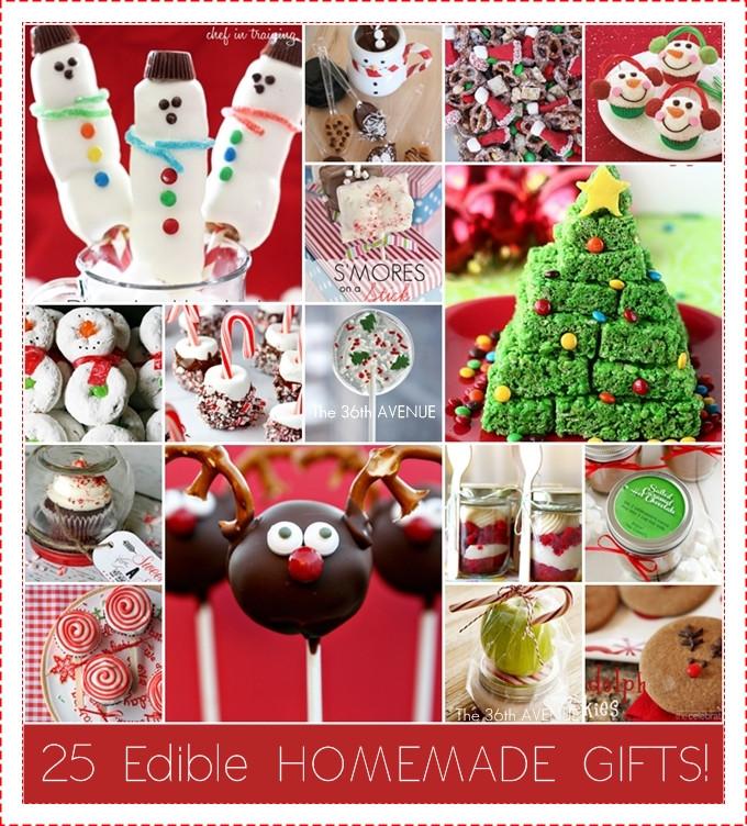 DIY Christmas Treats  25 Edible Neighbor Gifts The 36th AVENUE