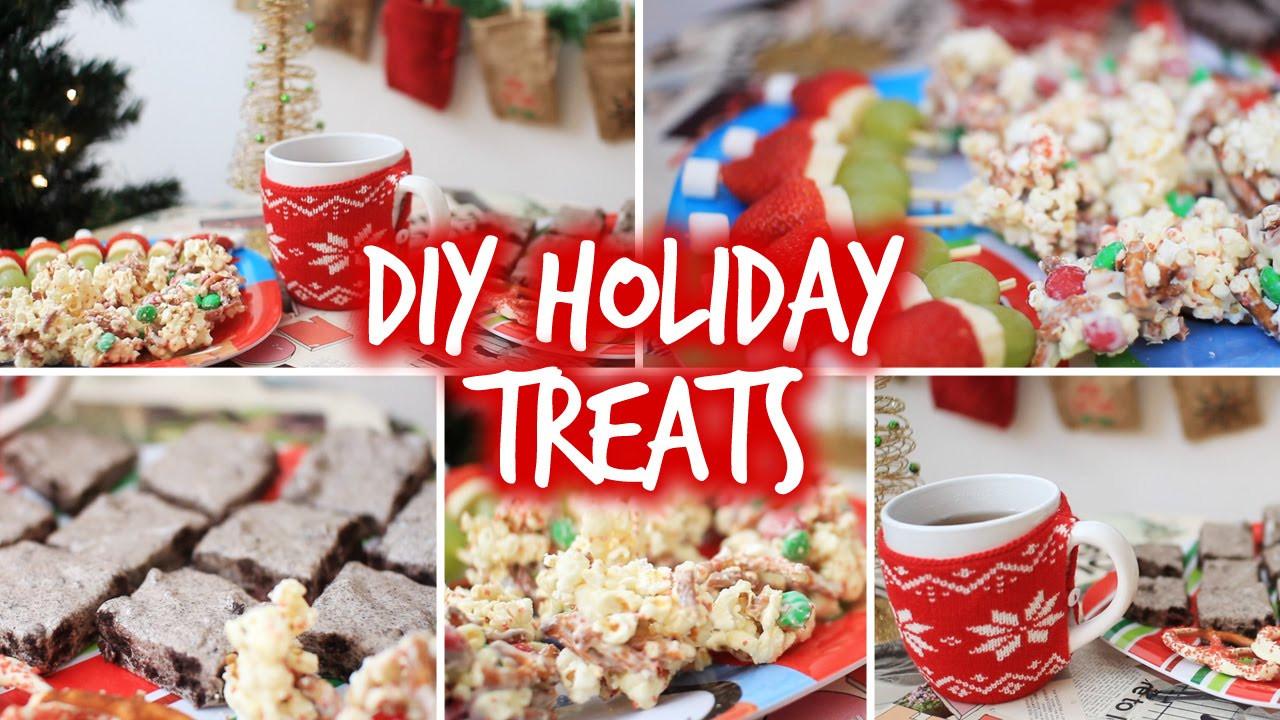 DIY Christmas Treats  Easy DIY Holiday Party Snacks & Christmas Treats
