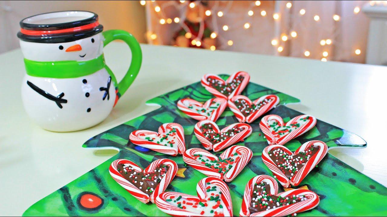 DIY Christmas Treats  DIY Christmas Treats Candy Cane Hearts