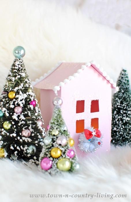 DIY Christmas Village  Christmas Village Free Printable to Make Your Own Town