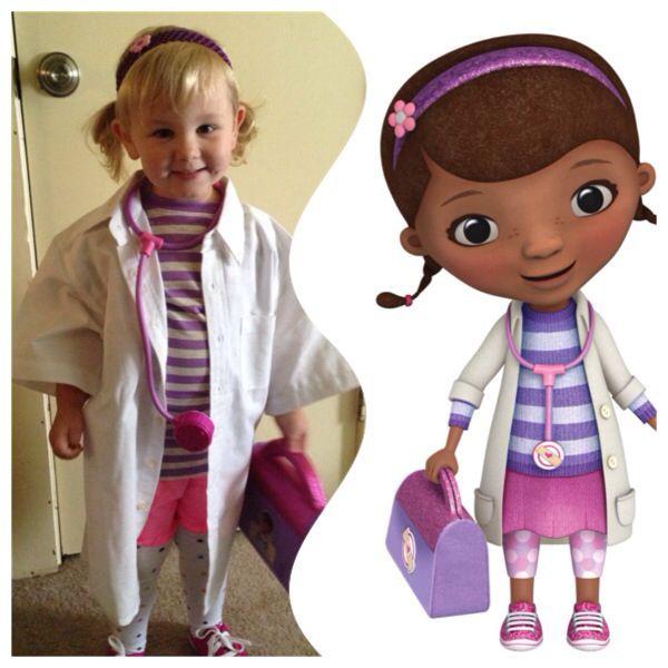 DIY Doc Mcstuffins Costume  169 best Doc Mcstuffins images on Pinterest