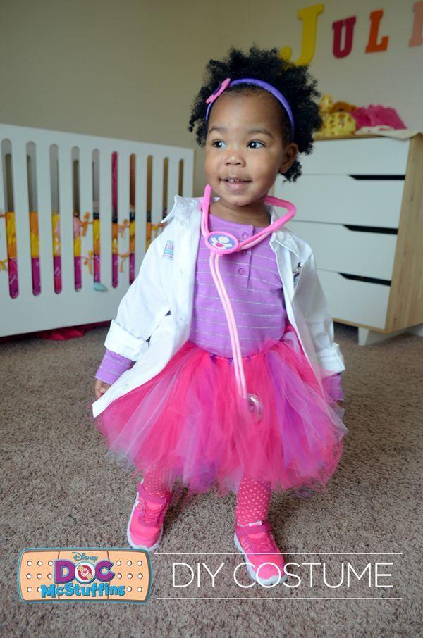 DIY Doc Mcstuffins Costume  Does your little one love Doc McStuffins Make this