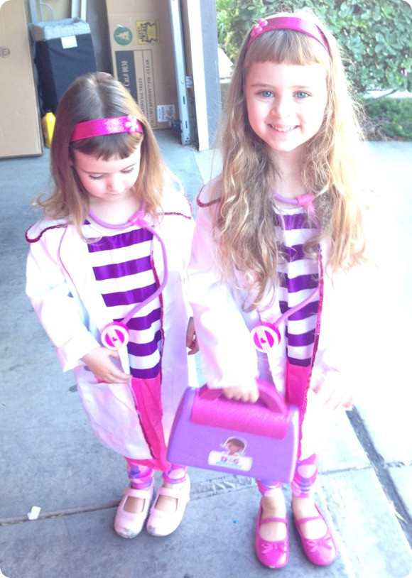 DIY Doc Mcstuffins Costume  DIY Doc McStuffins DocMobile out of a Red Wagon to Go With