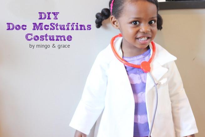 DIY Doc Mcstuffins Costume  DIY DOC MCSTUFFINS COSTUME — mingo & grace