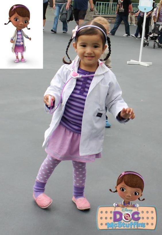 DIY Doc Mcstuffins Costume  Doc mcstuffins costume Doc McStuffins and Costumes on