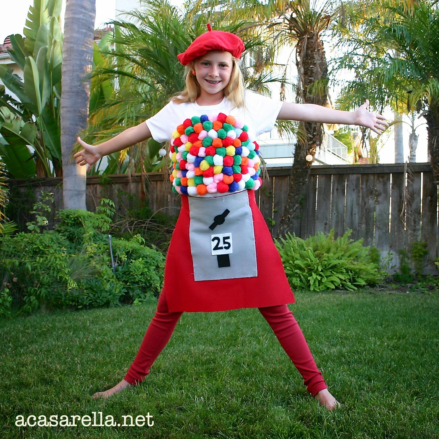 DIY Gumball Costume  Gumball Machine Halloween Costume