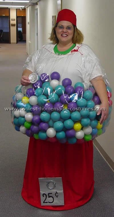 DIY Gumball Costume  Gumball Machine Halloween Costume s and