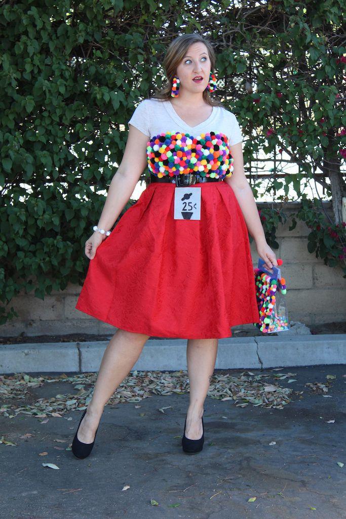 DIY Gumball Costume  DIY Gumball Machine Costume Happily Dwell Blog