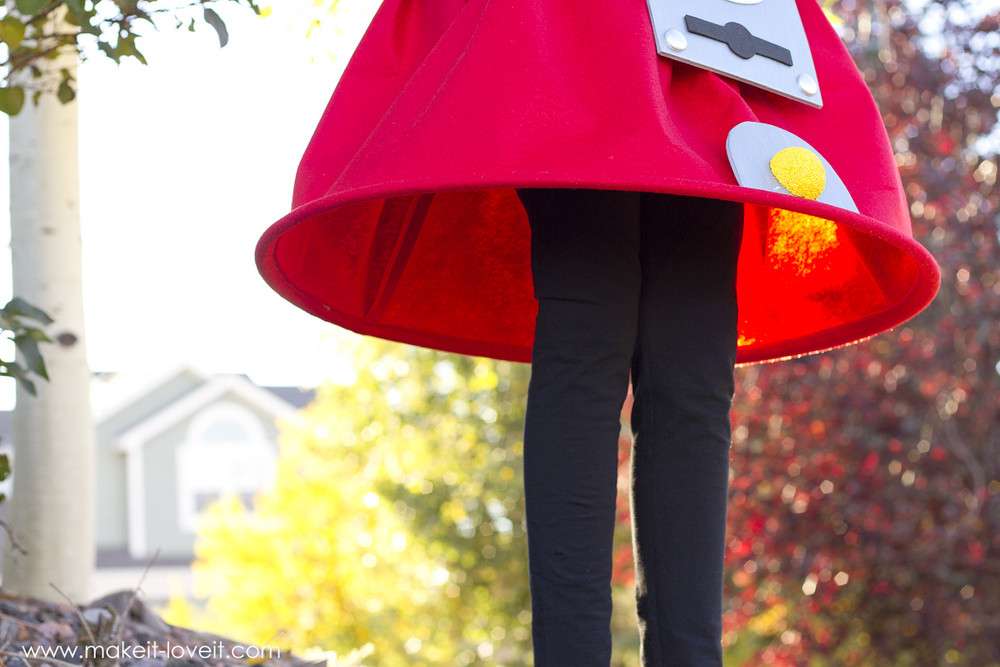 DIY Gumball Costume  Gumball Machine Costume a very Low Sew project