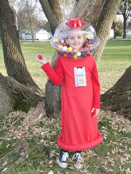 DIY Gumball Costume  9 Kids Food Costumes Dollar Store Crafts