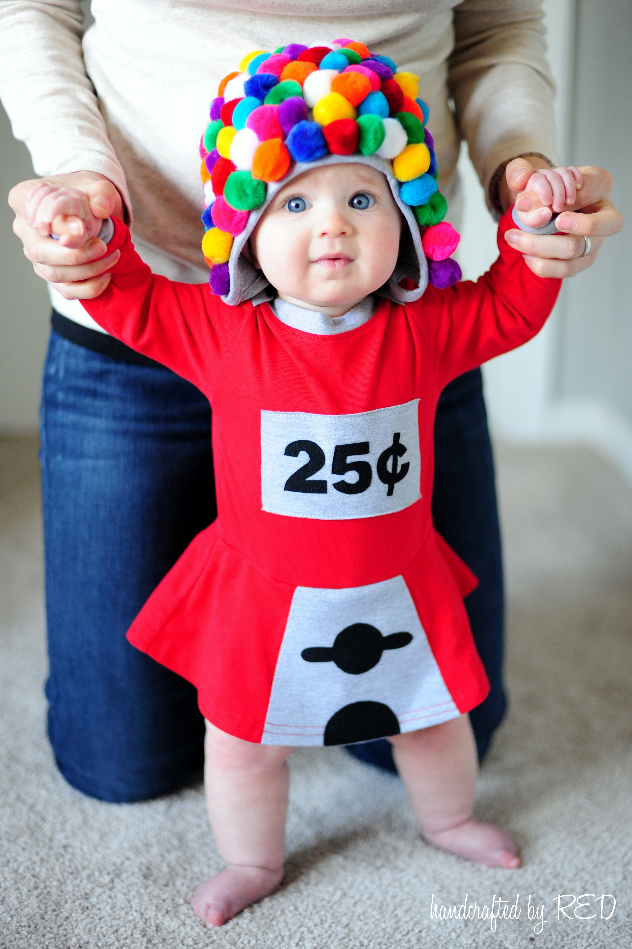 DIY Gumball Costume  DIY Baby Gumball Machine Costume Peek a Boo Pages