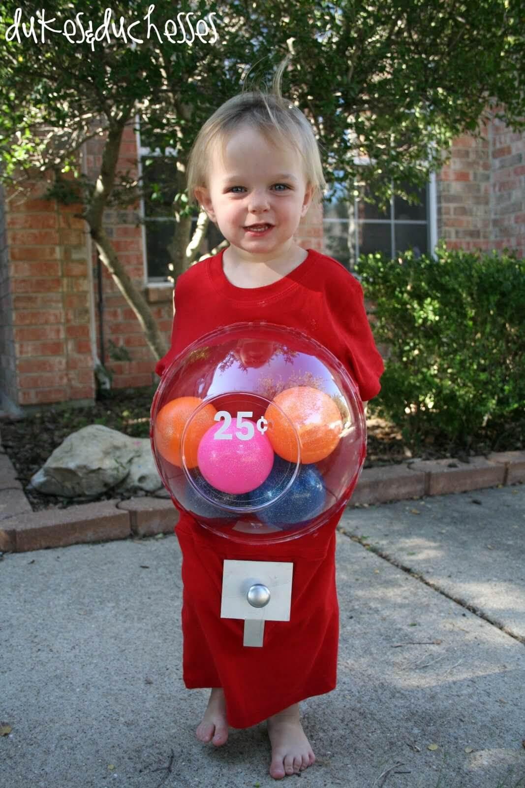 DIY Gumball Costume  A Gumball Machine Costume Dukes and Duchesses