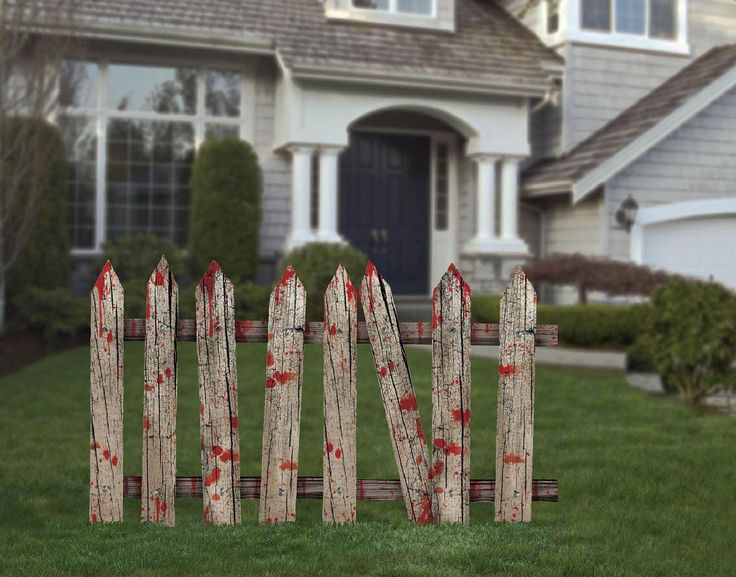 Diy Halloween Fence  30 best Haunted house ideas images on Pinterest