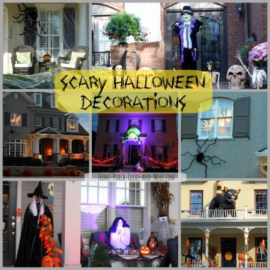 Diy Halloween Porch Decorations  251 best images about Halloween Decorations on Pinterest