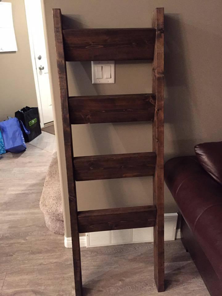 DIY Ladder Rack  Ana White