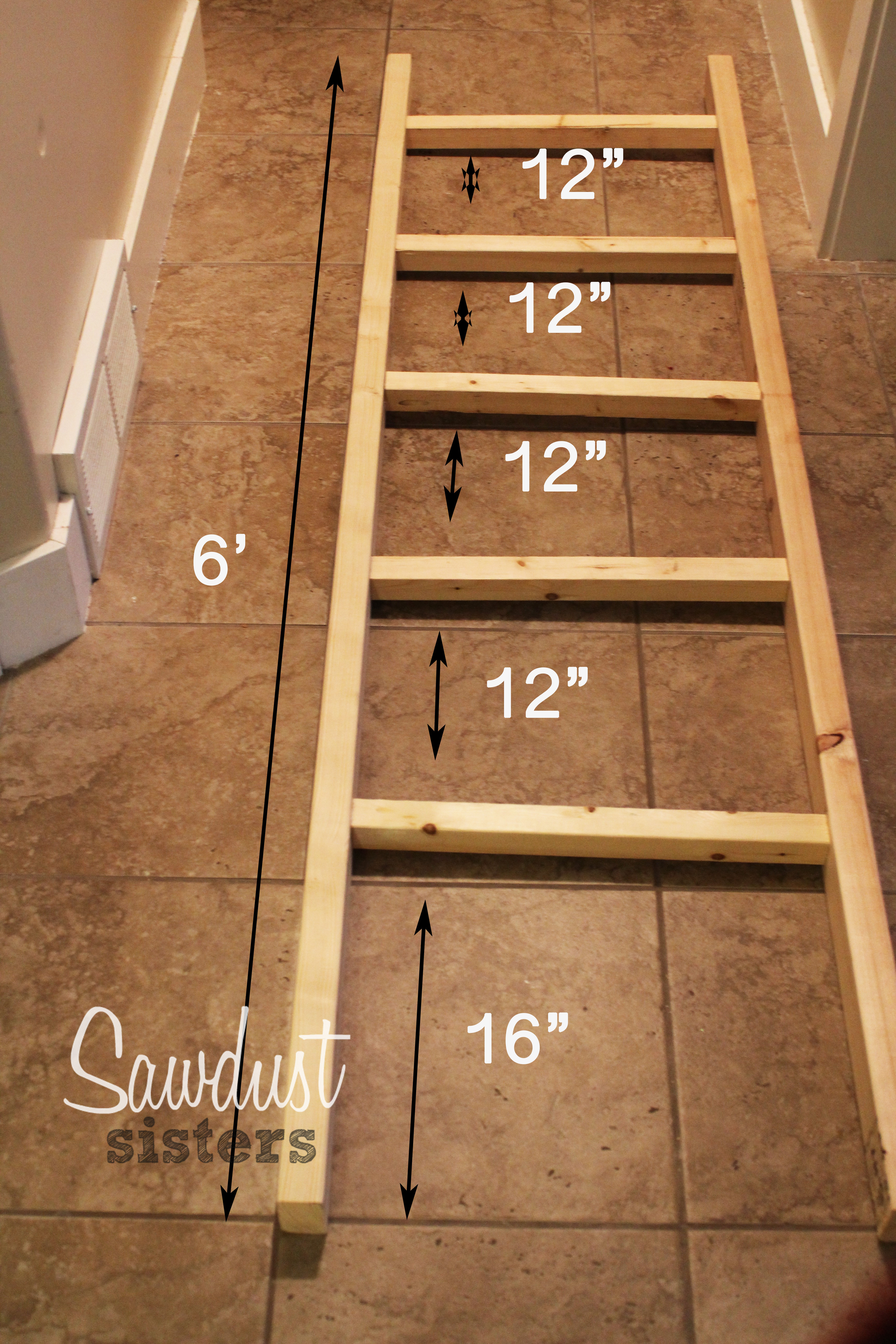 DIY Ladder Rack  45 Ladder Blanket Holder 25 Unique Quilt Ladder Ideas