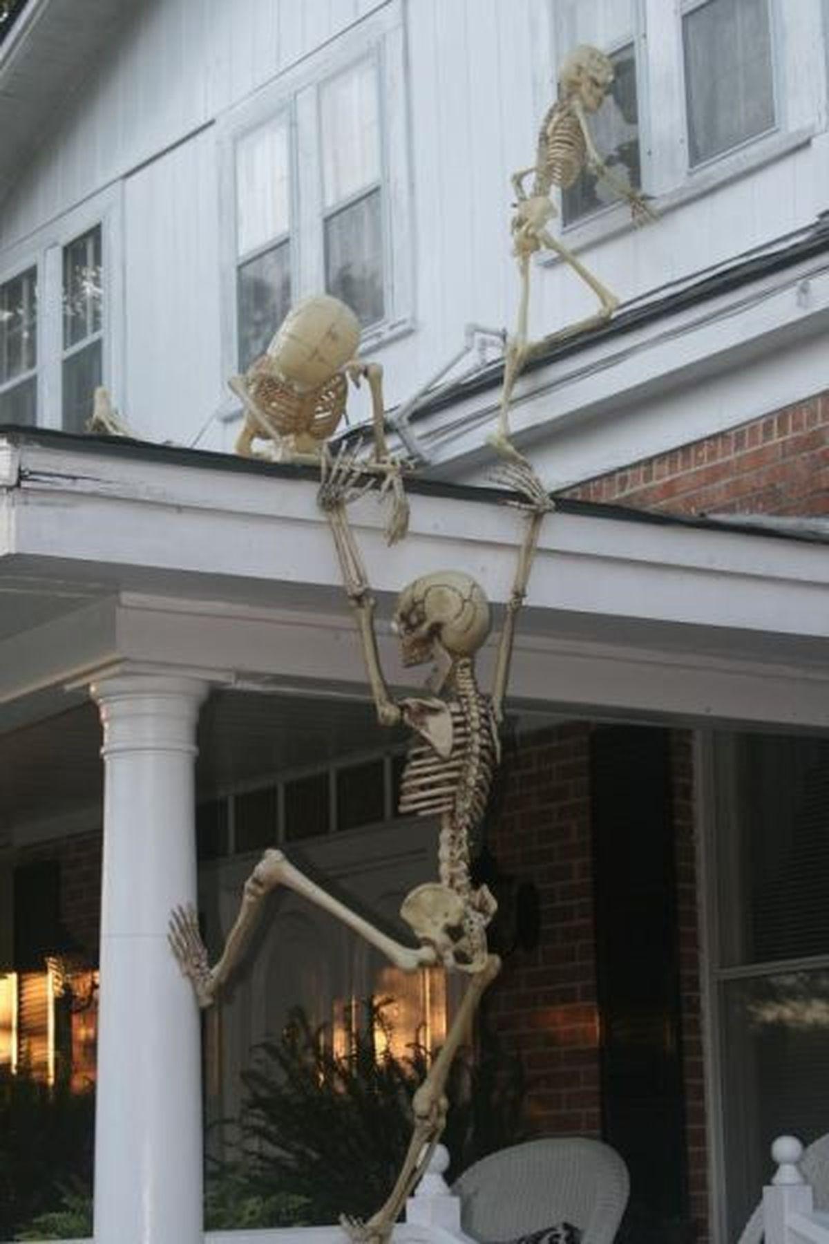 Diy Outdoor Halloween Decorations  plete List of Halloween Decorations Ideas In Your Home