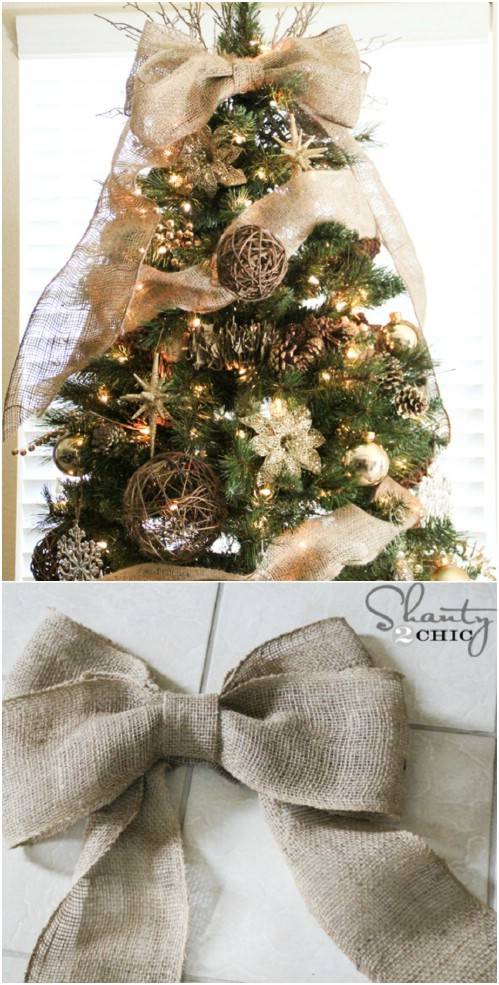 DIY Rustic Christmas Decorations  40 Rustic Christmas Decor Ideas You Can Build Yourself