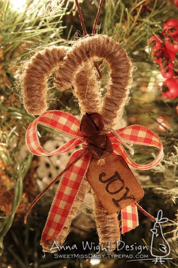 DIY Rustic Christmas Decorations  20 Homemade Christmas Decoration Ideas & Tutorials Hative