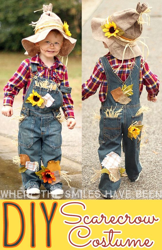 DIY Scarecrow Costume  15 Wizard of Oz Costumes and DIY Ideas 2017