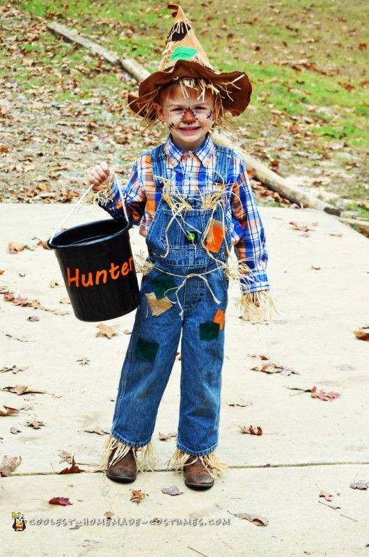 DIY Scarecrow Costume  184 best Last Minute Costume Ideas images on Pinterest