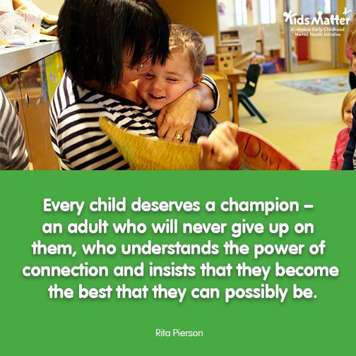Early Childhood Education Quotes  39 best Early Childhood Quotes KidsMatter Early