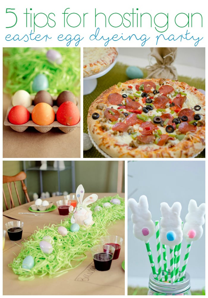 Easter Egg Dying Party Ideas  5 Tips for Hosting an Easter Egg Dyeing Party A Grande Life