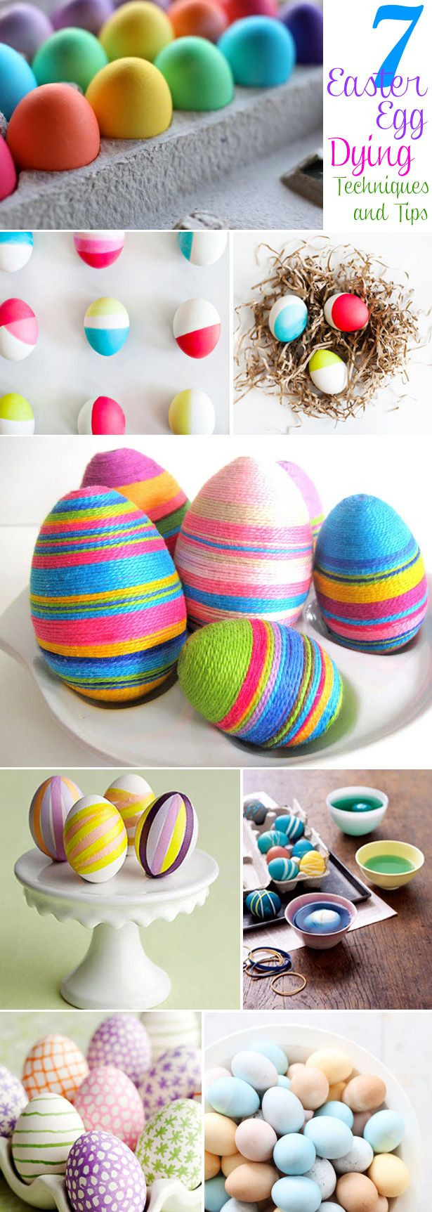 Easter Egg Dying Party Ideas  7 Easter Egg Dyeing Techniques Best Party Ideas