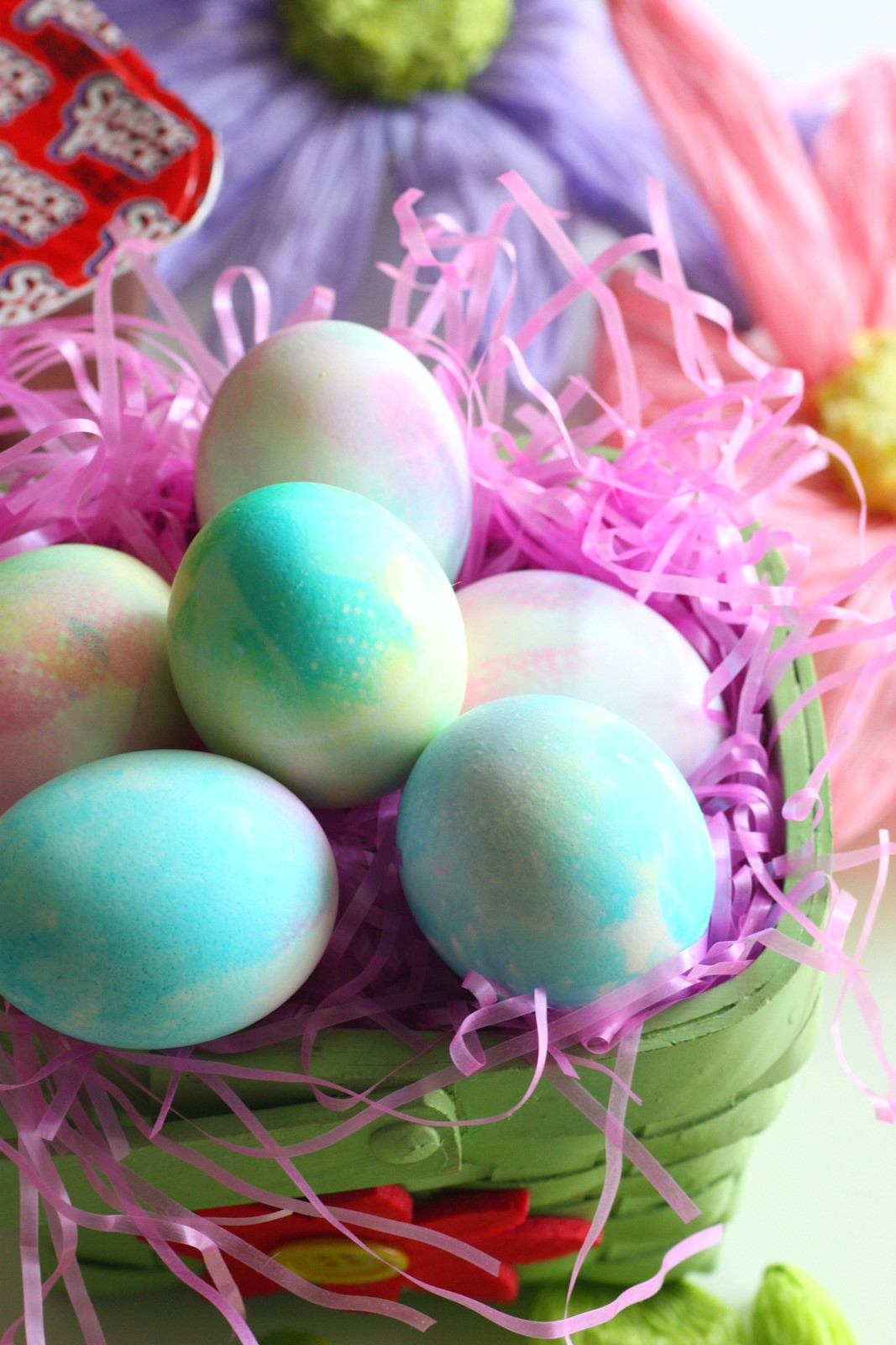 Easter Egg Dying Party Ideas  Tie Dye Easter Eggs
