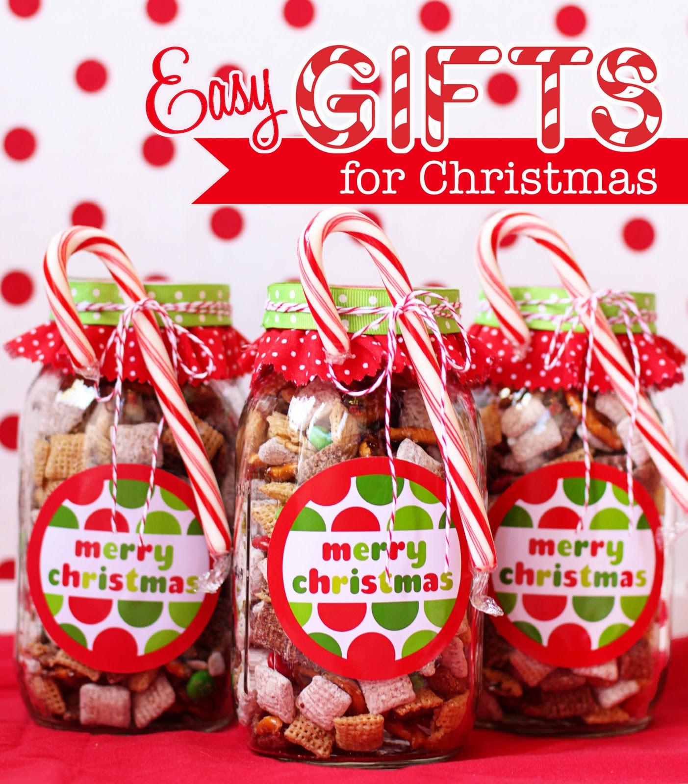 Easy Christmas Gift Ideas  25 Edible Neighbor Gifts The 36th AVENUE