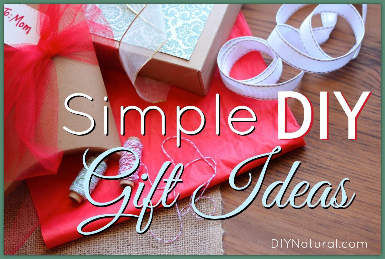 Easy Christmas Gift Ideas  Homemade Christmas Gift Ideas Many Natural Recipes