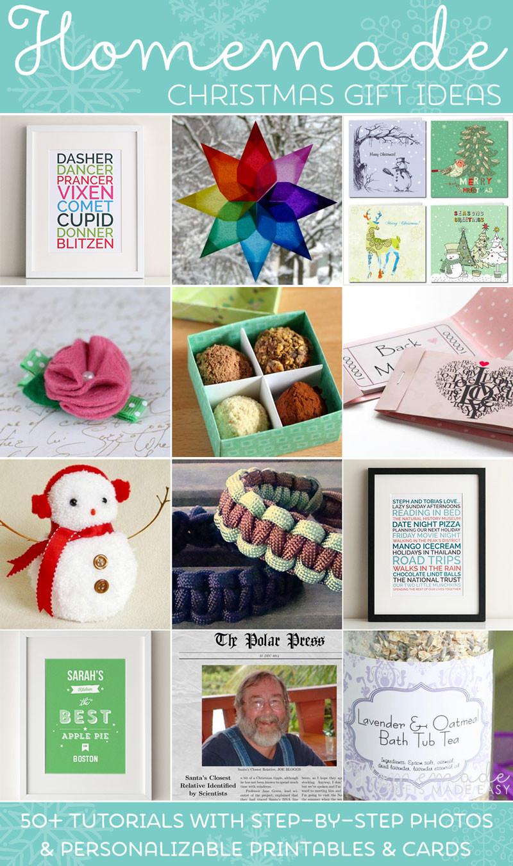 Easy Christmas Gift Ideas  Easy Homemade Christmas Gift Ideas Make Inexpensive
