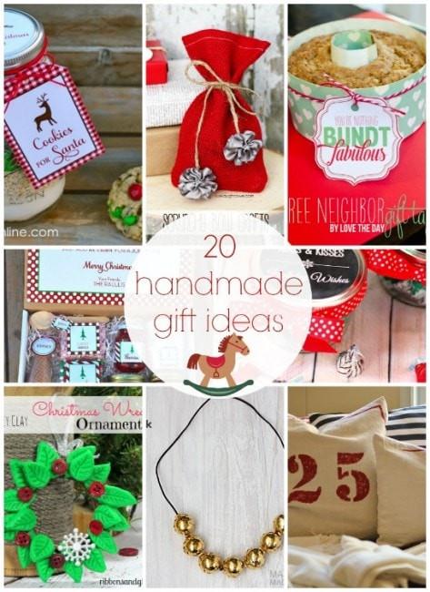 Easy Christmas Gift Ideas  101 inexpensive handmade Christmas ts I Heart Nap Time