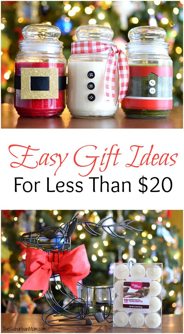 Easy Christmas Gift Ideas  DIY Christmas Candles And Other Easy Gift Ideas For Less