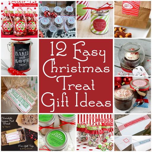 Easy Christmas Gift Ideas  Farm House Sisters 12 Easy Christmas Treat Gift Ideas